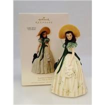Hallmark Ornament 2008 Scarlett O'Hara - Gone with the Wind - Porcelain 4134-SDB