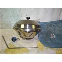 "Boaters' Resale Shop of TX 1806 0575.01 MAGMA 14"" MARINE BBQ KETTLE GRILL KIT"
