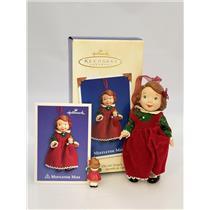 Hallmark Keepsake Series Ornament 2003 Mistletoe Miss #3 - Porcelain - #QX8219