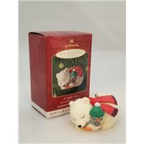 Hallmark Series Ornament 2001 Snowball and Tuxedo #1 - A Little Nap - #QX8072