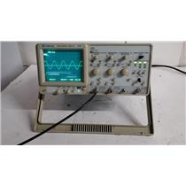 GW Instek GOS-6112 2-CH 100MHz Oscilloscope (Damaged Knobs and EXT Port)