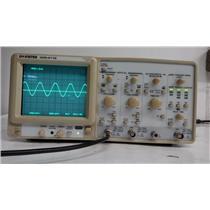 GW Instek GOS-6112 2-CH 100MHz Oscilloscope (Broken Handle)