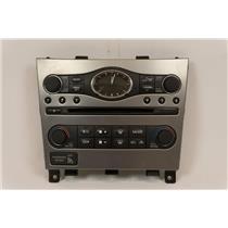 10-13 Infiniti G37 Center Dash Radio Climate Bezel with Climate Radio Controls