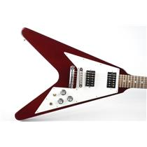 2006 Gibson Flying V Cherry Red Electric Guitar w/ Original Hard Case #33612