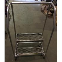 Tri Arc 2-Step Rolling Ladder