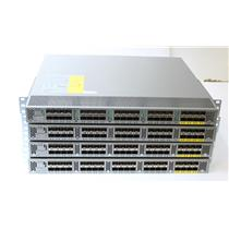 Lot of 4 Cisco Nexus 2232PP N2K-C2232PP-10GE 10GbE Fabric Extenders w/ Dual PSU
