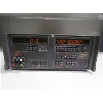 Datron 4000A DC Calibrator w/ Opt 20 (Ohms & DCI), 90 (Rack Mount), #1