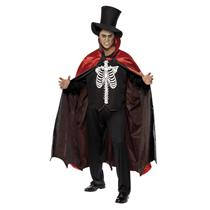Reversible Vampire/Skeleton Adult Costume Large 42-44