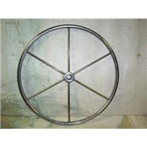 "Boaters' Resale Shop of TX 1808 1274.01 SS 20"" STEERING WHEEL FOR 1"" SHAFT"