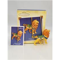 Hallmark Series Ornament 2004 Carousel Ride #1 - Majestic Lion -  #QX8464