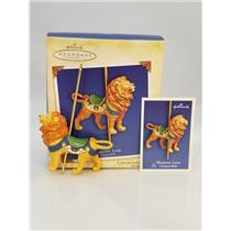 Hallmark Series Ornament 2004 Carousel Ride #1 - Majestic Lion -  #