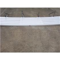 "Boaters' Resale Shop of TX 1808 0244.01 SWIM PLATFORM 25"" x 118"" & FOUR BRACKETS"
