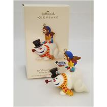 Hallmark Ornament 2007 Let's Have Some Fun - Frosty the Snowman - #QHC4037-PF