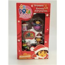 American Greetings Miniature Ornaments 2007 Dora the Explorer - Set of 5 - AGDSB