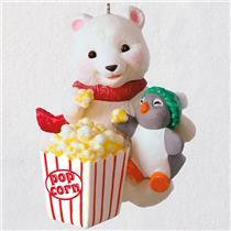 Hallmark Series Ornament 2018 Snowball and Tuxedo #18 - Movie Night - #QX9376