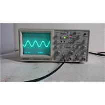 Hitachi V-1565 Analog Oscilloscope 100 MHz [No Handle]