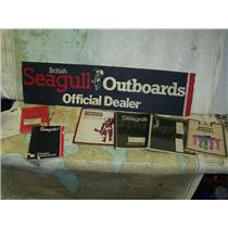 Boaters' Resale Shop of TX.1809 4101.12 BRITISH SEAGULL SIGN, HANDBOOK & MANUALS