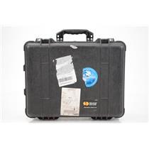 Pelican 1560 Audio Video Camera Electronics & Divider Case Kato Khandwala #33704