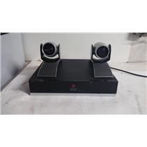 Polycom HDX 9000 Video Conferencing Equipment 2201-29004-001 w/ 2 MPTZ-6 Cameras