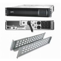 APC SMT1500RM2U Smart-UPS Power Backup, LCD 1500VA 1000W 120V Rackmount New Batt