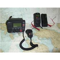 Boaters' Resale Shop of TX 1808 0225.01 UNIDEN UM525 MARINE VHF RADIO & REMOTE