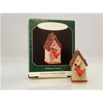 Hallmark Miniature Series Ornament 1998 Welcome Friends #2 - Birdhouse - QXM4153