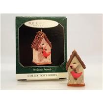 Hallmark Miniature Series Ornament 1998 Welcome Friends #2 - #QXM4153-SDB