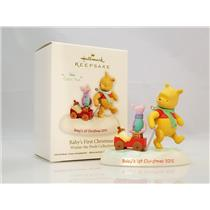 Hallmark Ornament 2012 Baby's First Christmas - Classic Winnie the Pooh QXD1601