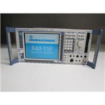 Rohde & Schwarz FSP13 Spectrum Analyzer, 9 kHz to 13 gHz, Opt K5