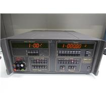 Datron 4000A DC Calibrator w/ Opt 20 (Ohms & DCI), 30 (AC Current), 90 (Rack)