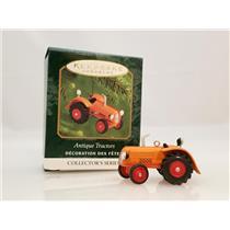 Hallmark Miniature Series Ornament 2000 Antique Tractors #4 - #QXM5994