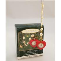 Hallmark Miniature Ornament 2000 Wonders of Oz #2 - The Tin Man's Heart #QXM5981