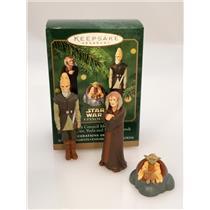 Hallmark Miniature Ornament Set 2000 Jedi Council Members - Star Wars - #QXI6744