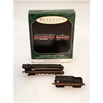 1999 Hallmark Miniatures 746 Norfolk & Western #1 Locomotive and Tender QXM4549