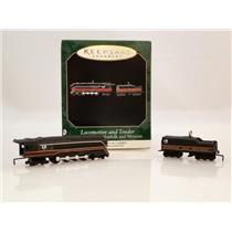 1999 Hallmark Miniatures 746 Norfolk & Western #1 Locomotive and Tender 4549-SDB