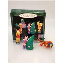 Hallmark Miniature Ornaments 1998 Tree Trimmin' Time - Winnie the Pooh - 4236-DB