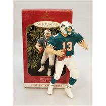 Hallmark Ornament 1999 Football Legends #5 - Dan Marino Artist Signed  #4029-SBA
