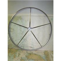 "Boaters' Resale Shop of TX 1809 1442.01 EDSON 36"" STEERING WHEEL TAPPERED SHAFT"