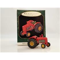 Hallmark Miniature Series Ornament 1997 Antique Tractors #1 - #QXM4185-SDB