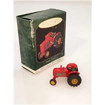 Hallmark Miniature Series Ornament 1997 Antique Tractors #1 - #QXM4185-DB