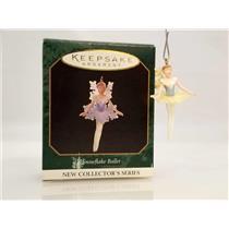 Hallmark Miniature Series Ornament 1997 Snowflake Ballet #1 - #QXM4192-SDB