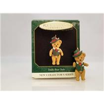 Hallmark Miniature Series Ornament 1997 Teddy Bear Style #1 - #QXM4215-DB