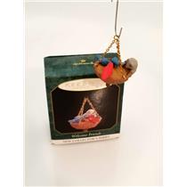 Hallmark Miniature Series Ornament 1997 Welcome Friends #1 - #QXM4205-SDB