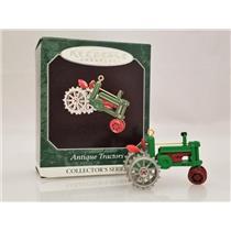Hallmark Miniature Series Ornament 1998 Antique Tractors #2 - #QXM4166