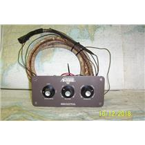 Boaters' Resale Shop of TX 1804 1422.02 MARINE AIR SYSTEMS 3 KNOB AC CONTROL