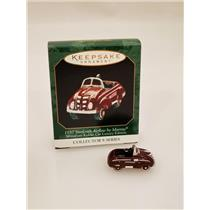 Hallmark Miniature 1999 Kiddie Car Classics - 1937 Steelcraft Airflow - #QXM4477