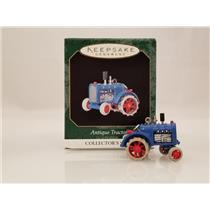 Hallmark Miniature Series Ornament 1999 Antique Tarctors #3 - #QXM4567