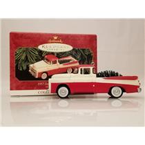 Hallmark Ornament 1999 All American Trucks #5 - 1957 Dodge Sweptside D100 QX6269