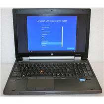 "HP Elitebook 8570W 15.6"" Core i7 3630QM 2.4GHz 8GB500GB AMD FirePro M4000 Laptop"