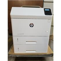 HP LASERJET ENTERPRISE M606DN PRINTER REFURBISHED WITH EXTRA TRAY & NEW TONER